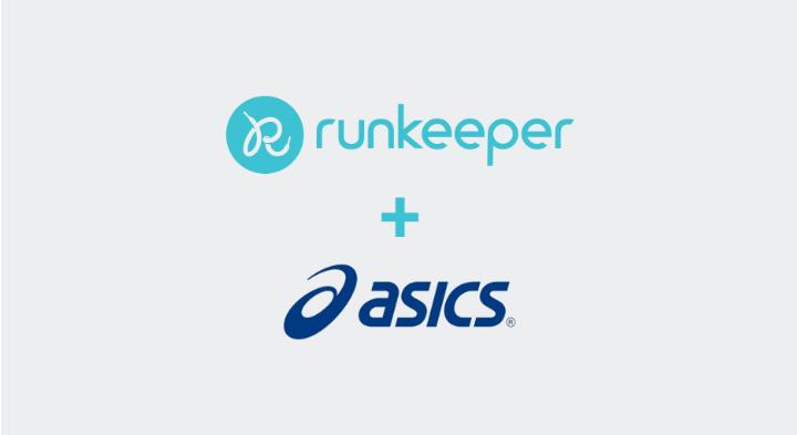 Runkeeper court pour ASICS