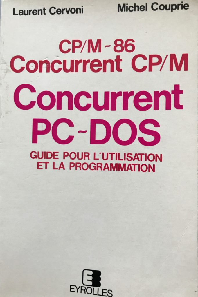 Concurrent CP/M - L. Cervoni M. Couprie